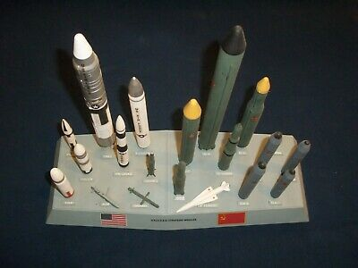 U.s. / U.r.s.s. Strategic Missiles / Monogram Models / Made In U.s.a.
