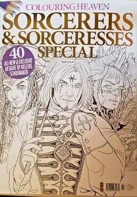 Colouring Heaven Magazine 2019 = # 51 = Sorcerers & Sorceresses Special Issue
