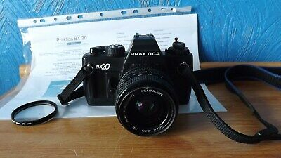 Praktica Bx20 With Matched Zoom Lens, Manual, Etc