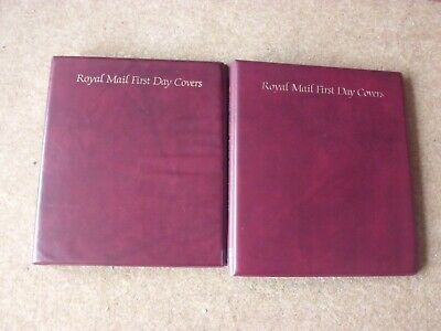 2 x Royal Mail FDC albums - good condition - rf601