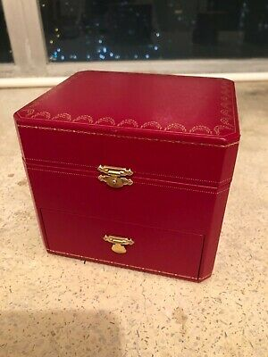 Vintage Authentic Cartier  Jewelry Watch Box Case cowa0045