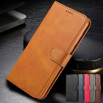 For iPhone XS Max Case XR 8 Plus 7 6s Luxury Leather Wallet Magnetic Flip Cover