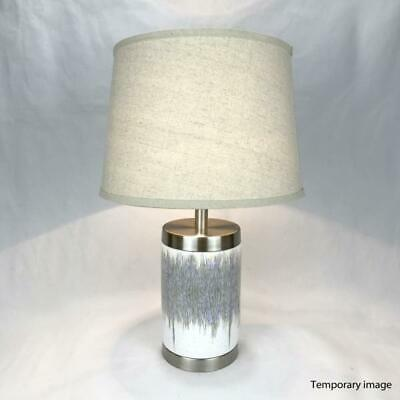 Urbi Large Silver Accent Table Lamp