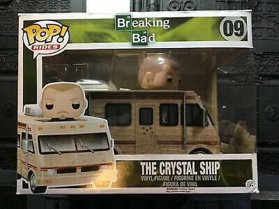 Funko Pop! Rides Breaking Bad Crystal Ship #09 with Jesse Pinkman at the Wheel