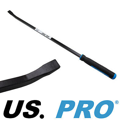"US PRO Large Black Heavy Duty 36"" Angle Pry Bar Crow Bar Non Slip Handle 6858"