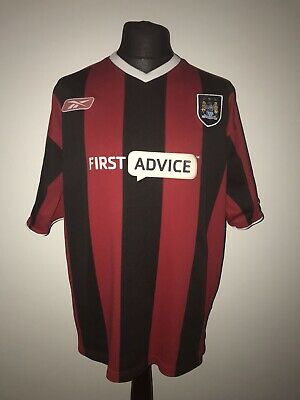 Manchester City 2003-04 Away Vintage Football Shirt - Excellent Condition