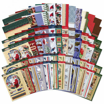 Hunkydory - Stepping Into Christmas Deco-Large Collection - FREE P&P