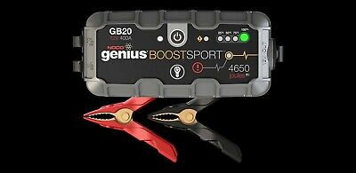 NOCO GB20 Genius Battery Boost Pack 12V 400A Sport Jump Starter Top Quality