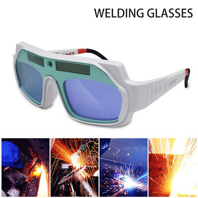 Solar Powered Auto Darkening Welding Mask Helmet Eye Goggles Welder Glasses Good