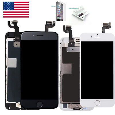 OEM iPhone 6S 6 Plus 7 8 Plus LCD Touch Screen Full Replacement + Button&Camera
