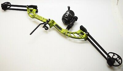 Archenemy Depth Charge Bowfishing Compound Bow Arrows Rest & Reel RH 27-40 lbs