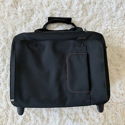 Briggs and Riley Verb Roam Rolling Briefcase VBR460-4 Travel Black Bag 14x18x8