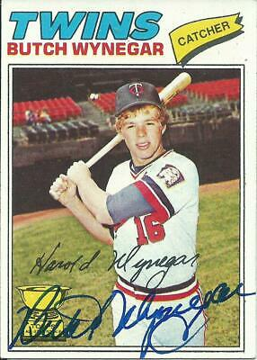 Butch Wynegar Twins 2X All Star 1977 Topps Card Vintage Signed In-Person