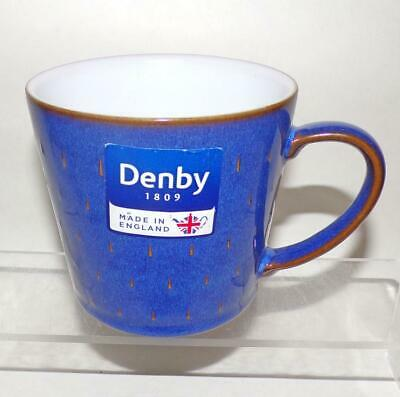 Denby Pottery Imperial Blue Cascade ½ Pint Mug 400ml made in Stoneware