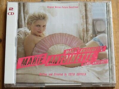 2 CD MARIE ANTOINETTE (original soundtrack OST)(The Cure/New Order/Aphex Twin)