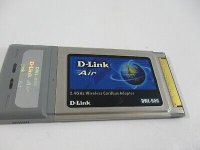 D LINK AIR DWL 650 WINDOWS VISTA DRIVER DOWNLOAD
