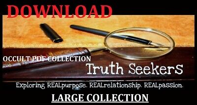 Books For Truth Seekers (Occult Pdf) Large Collection Download