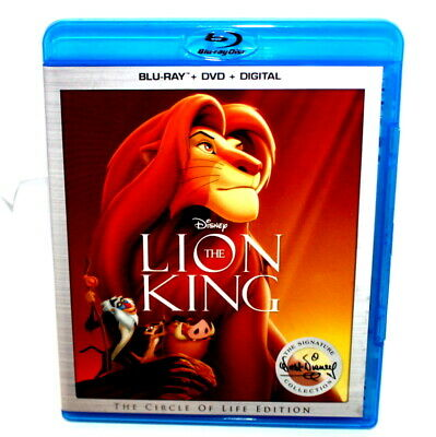 Walt Disney's The Lion King The Circle of Life Edition Bluray + DVD 2017 Rated G