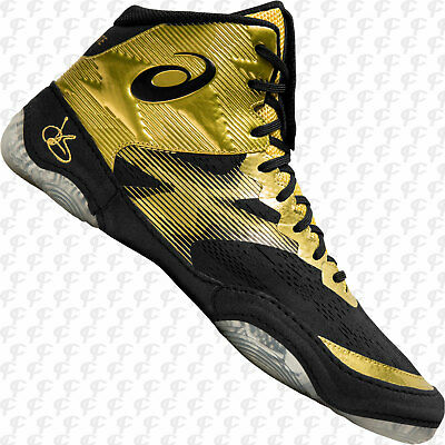 Asics JB Elite IV Wrestling Shoes - Metallic Gold 1081A016.200 NEW w. Shipping