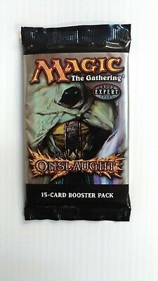MTG ONSLAUGHT Factory Sealed Booster Pack Magic English