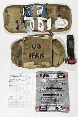 SEKRI IFAK II US Military Individual First Aid Kit Multicam NAR w/Tourniquet