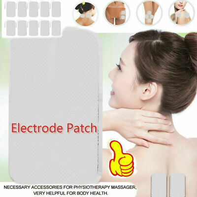 10pcs Therapy Square Electrode Pad Electrode Patch And Therapy Massage Machine