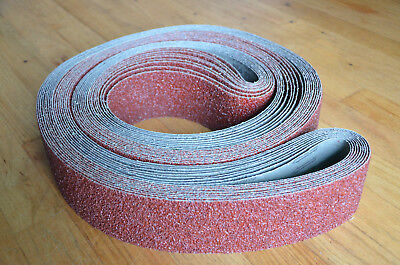 "10 Pack Premium Sanding Belts 3""x132"" Aluminum Oxide 120G PFREE SHIPPING"