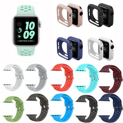 Silicone Band Strap For Apple Watch iWatch Sports Series 1/2/3/4 38/42/40/44mm