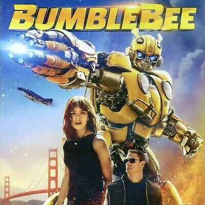 BumbleBee 2018 PG-13 Transformers sci-fi action movie, new DVD, Steinfeld, Cena