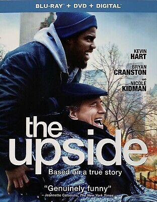 THE UPSIDE ~ Blu-Ray + DVD + Digital *New *Factory Sealed