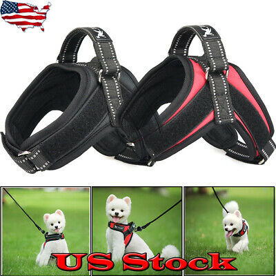 Pet Supplies Reflective Collar Harness Small Medium Dog Vest Puppy Chest Strap