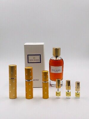 Widian Rose Arabia ALMOND EDP Parfum 2ml 3ml 4ml 5ml 10ml Spray samples NICHE