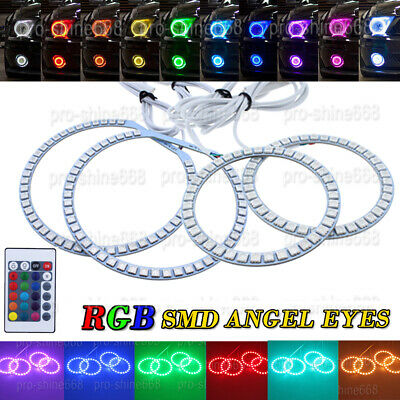 For 06-Up Lexus is250 is350 ISF LED Halo Ring Angel Eye CCFL 10000k Xenon Blue