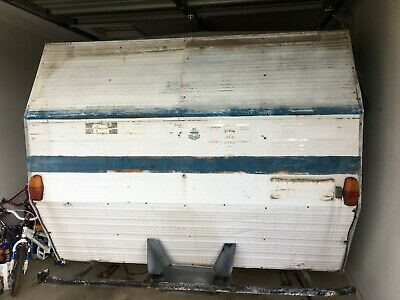 MILLARDS 1970 OR EARLY 80's 11 FOOT Pop Top Caravan ( Fixer Upper)