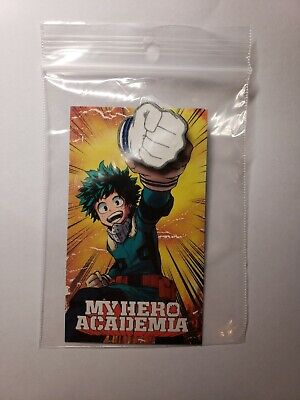 MY HERO ACADEMIA Pin Izuku Midoriya 2018 SDCC Exclusive Viz BNHA