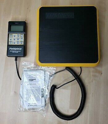 Fieldpiece SRS1 Residential Light Commercial Refrigerant Scale w/ Alarm and Case