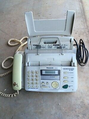 Panasonic Fax Machine, Phone Fax & Answering Machine.