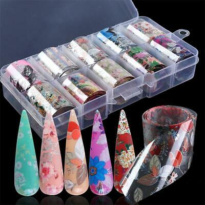 Sky Transfer Nail Art Stickers Manicure Decor Nail Foil Holographic Decals