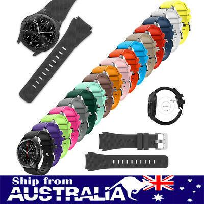 AU Silicone Replacement Wrist Strap Watch Band Bracelet For Samsung Gear S3 xi