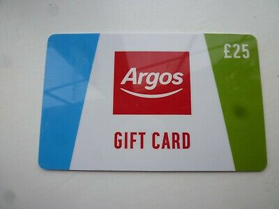 Argos Gift Voucher £25 Value
