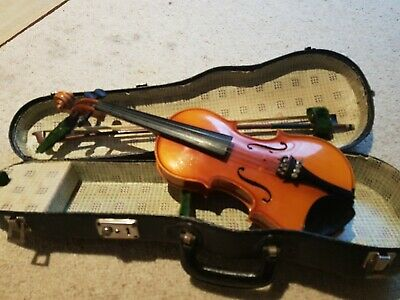 1950's Antonius Stradivarius Faciebat Cremona 1713 Violin Hard Case Small