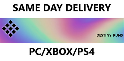 DESTINY 2 Emblem FIRST TO THE FORGE ~ SAME DAY DELIVERY~ PS4 XBOX PC