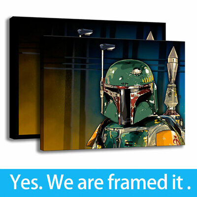 Modern Painting Wall Art Living Room Decorative Print Star Wars on Canvas 16x20