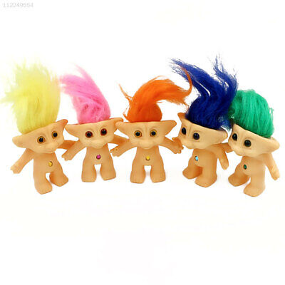 8FEA Troll Doll Action Figure Kids for Babys Collectible Home Model Decor Toys