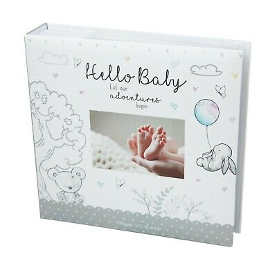 "New Baby - Photo Album - 200 Photo's - 4""x6"" - Unisex Design"