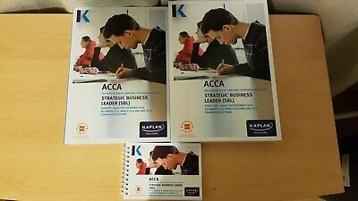 KAPLAN ACCA STRATEGIC Business Leader (SBL)Study Text, Exam Kit and Pocket  Notes