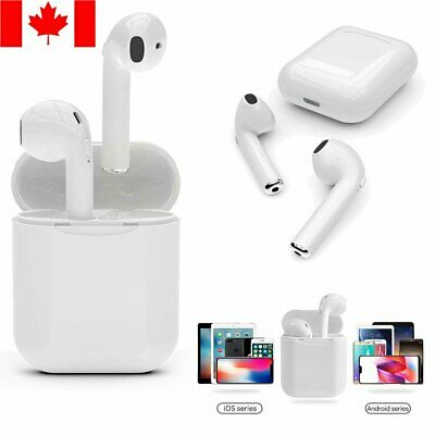Mini Wireless Earbuds w/Charging Case Headphones TWS For Apple Style IOS Android
