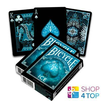 2 Bicycle Ice Playing Cards Decks Made In Usa Original Poker Blue Glacial New