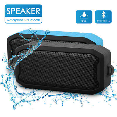 Rechargeable Portable Wireless Bluetooth V5.0 Stereo Speaker Waterproof IP67 USB