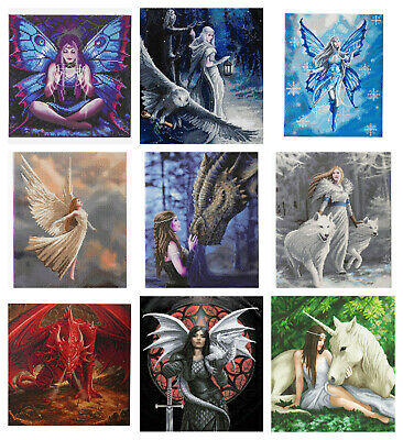 Craft Buddy Crystal Art Kit - Diamond Painting - Anne Stokes Collection - NEW
